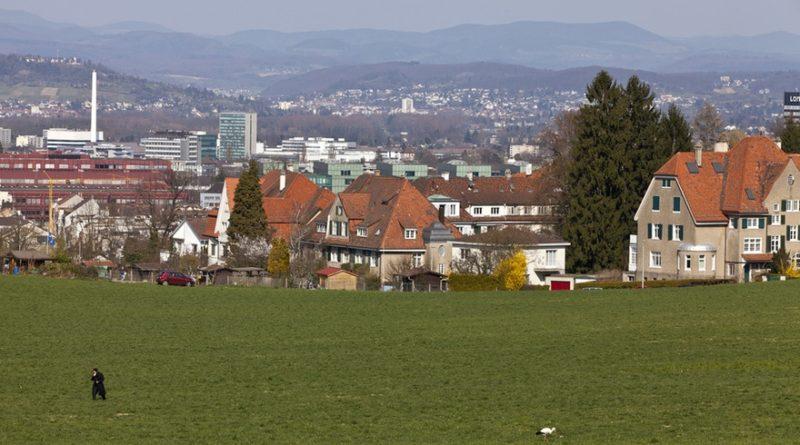 paesaggio in Svizzera