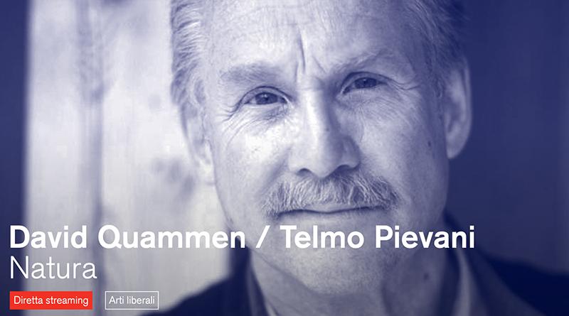 Incontro con David Quammen e Telmo Pievani