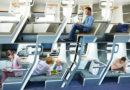 Sedili a due piani sugli aerei economici